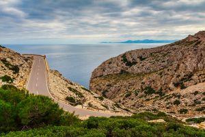 Rennrad in Mallorca die Straßen