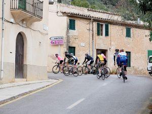 Fahrer Rennrad Urlaub auf Mallorca