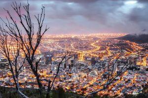 radreise in kapstadt in südafrika